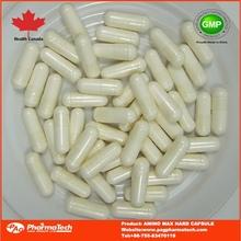 caliente venta de suplemento en polvo cápsula de ácido amino