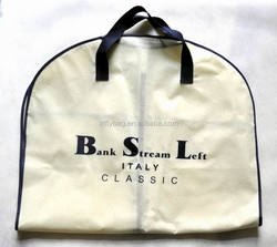 Custom Printed Non Woven Garment Bag for Suit