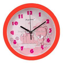 Home decor 8 inch plastic wall clock, home goods wall clocks