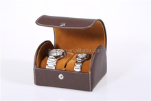 custom design leather blank watch case
