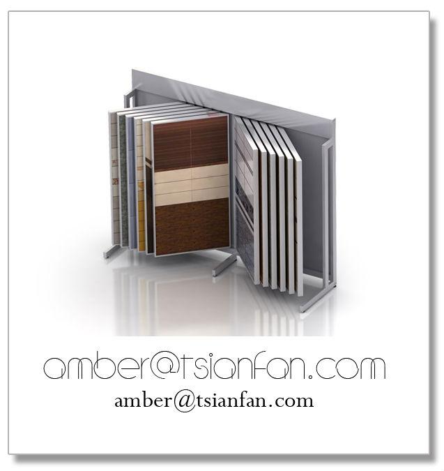 Popuplar Book Style Porcelain Tile Display Rack for Showroom.jpg