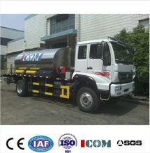 Low cost! Sino truck 8000L ZQZ5161GLQ bitumen sprayer truck