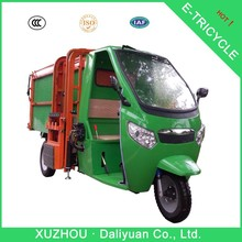 garbage electric truck supplier environmental-friendly tricycle for sale in philippines