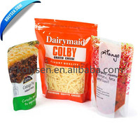 Custom Artwork Design Standup Pouch with Zipper for Food Packaging