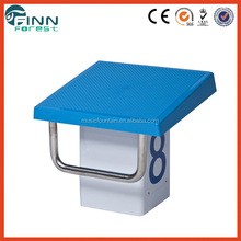 Factory supply hot sale FRP COMPETITION pool starting blocks