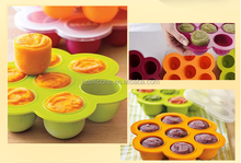 silicone lunch box / silicone food container / food grade silicone container