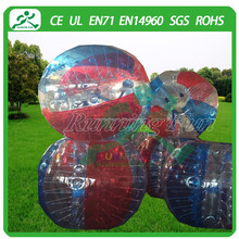 Fast delivery inflatable sports bumper ball bubble soccer ball for sale