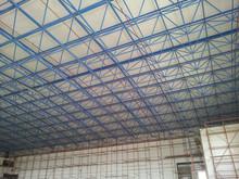 Basketball court stadium sports hall steel space frame building KSA