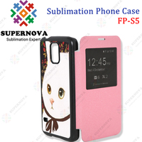 Custom flip case for mobile phones For Samsung Galaxy S5 Manufacturers