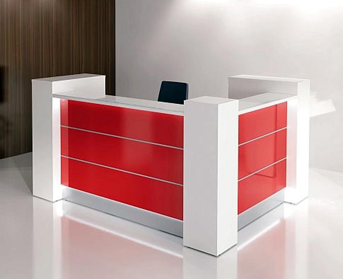 Modern l shape counter high glossy white beauty salon for L shaped salon reception desk