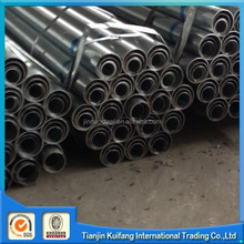galvanized strip steel Pipe for gas/fluid/costruction/greenhouse