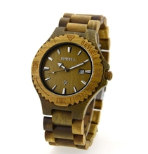 Hot sale factory price BEWELL wooden watch ,high quality with Japan movment