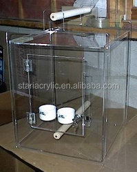 Acrylic Bird Carrier Travel Cage Parrot Vacation Bird Home High Quality Cage
