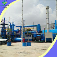 Customize 80% Oil Yield Rate Waste Plastic Recycling Line With Good Profit