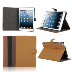 Luxury Retro Leather Flip Folio Stand Case Cover for iPad Mini 4