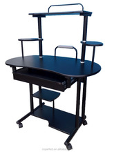 yönetici ofis kullanılan masif ahşap bilgisayar masası
