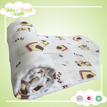 MS190 the most fashion cotton best baby pram blankets, baby stroller blanket