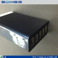 New design 5 ports usb charger with earth wire high quality manufactory with low price