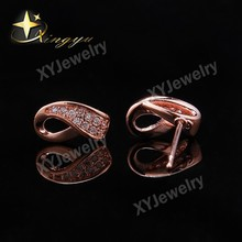 Fashion Earring Design New Model Earring Stud ZIrcon