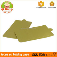 Hot Sale Different Shape Gold Foil Eco-friendly Mini Cake Boards