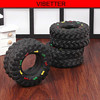 TOY-027 Small Sounds Tire Shape Pet Dog Toy Puppy Cat Chews Squeaky Toys
