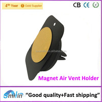 Unique design mobile phone magnetic universal car air vent mount for iPhone5s iPhone6 Samsung Note4 S3 Smartphone Magnet Holder