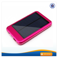 AWC613 active solar energy 5000mah portable power bank charger for htc solar charger lithium polymer solar power bank 5000mah