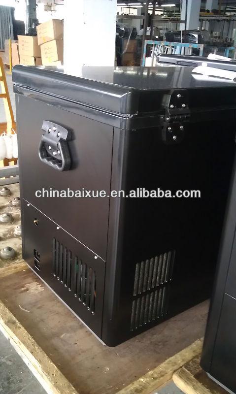outdoor camping tragbare 12v k hlschrank 80l zwei t ren. Black Bedroom Furniture Sets. Home Design Ideas