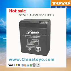 Sealed Lead Acid AGM Solar UPS Battery 6V8.5AH,Maintenance Free VRLA Storage Rechargeable Battery