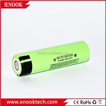 2015 hot selling ncr18650b 3400mah 3.7v li-ion battery high capacity 18650 3.7v rechargeable battery for electronic e-cigarette