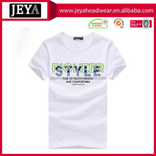 Promotion Factory Price Printing Custom T-shirt For Team Activity Plain white tshirt with your own logo