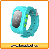 Popular Emergency GPS Tracker Kids Silicon Watch With SIM Card Slot SOS Phone Call