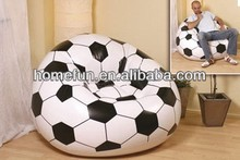 cheap durable inflatable football/soccer sofa chair for popular Game