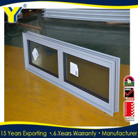 CHINA factory wholesale High quality Australian standards Toughened glass Aluminum Fixed Windows
