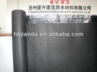 Sloping waterproof and breathable roofing membrane