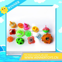 Cheap funny plastic promotional spinning top