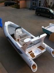 Liya 660 fiberglass hull inflatable boat for diving