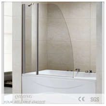 Economical shower room/bathtub frameless shower screen(XQL8703C)