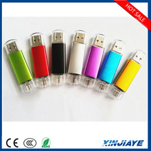 8GB smartphone otg usb flash drive,USB 2.0 Connectors OTG Flash Drive for android phone,smartphone U Disk for android phone