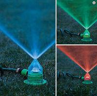LED Garden Lawn Water Irrigation Sprinkler