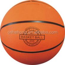 2015 Orange Color Rubber Basketball