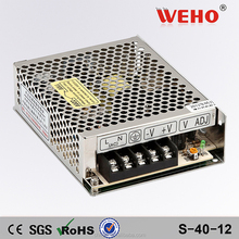 Factory outlet 220v 12v ac dc 40w led driver 12v switchiing power supply