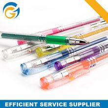 Glitter Ballpoint Pen,Milky Gel Pen