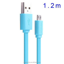 Universal Flat Micro USB 2.0 Charge Cable Data Cable 120cm 5V 2A Quick Cable For Sony LG Lenovo HTC Xiaomi