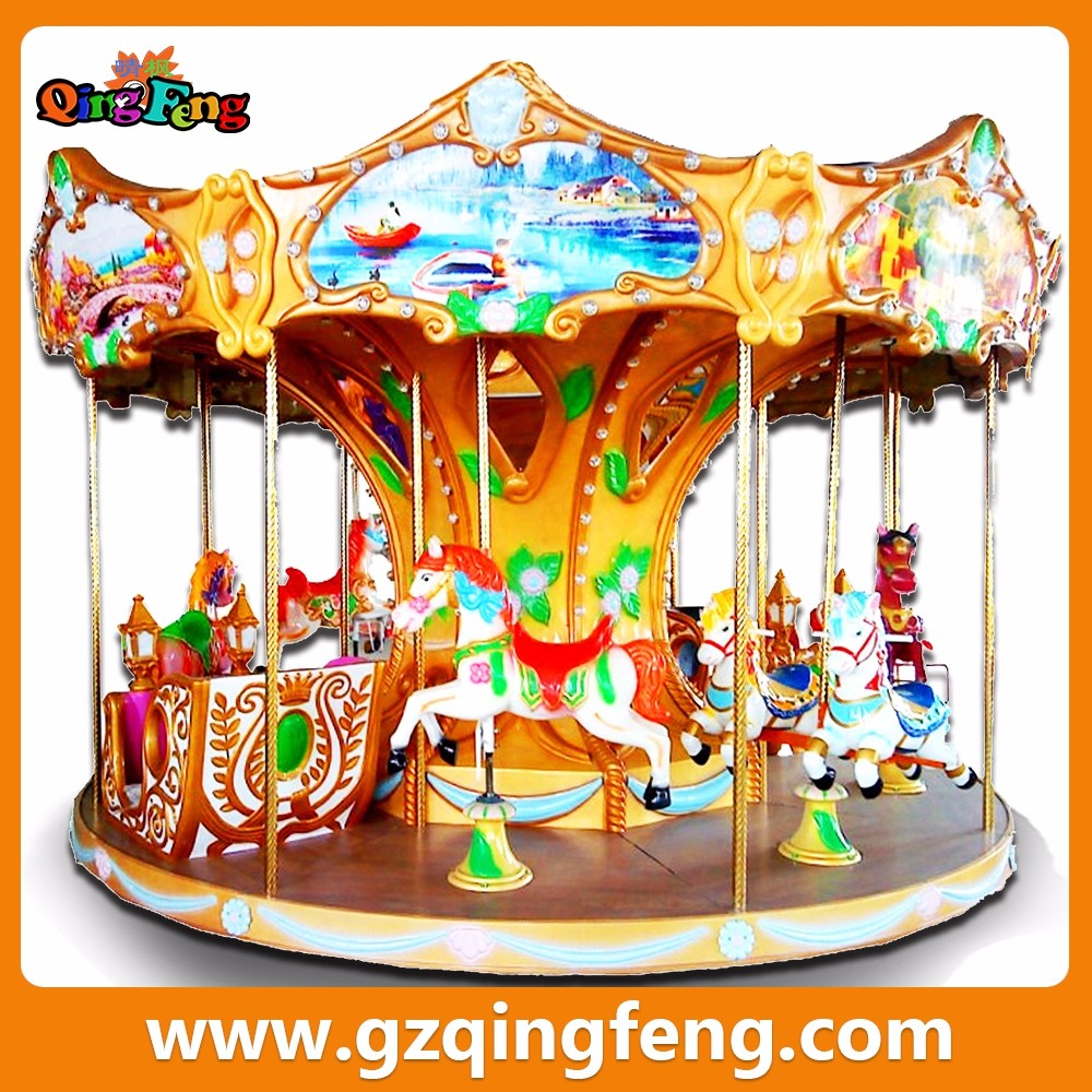 amusement wholesale crazy toy carousel christmas carousel decoration