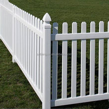 2015 pvc privacy garden fence
