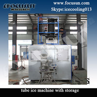 Bagging machine ice for Cape Verde