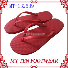 Wholesale Cheap Lady's Red Promotional Flip Flops