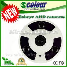 AHD fisheye camera 2.0MP home surveillance camera 2015 new product p10 dip xxx video xxx(BE-MF AHD Series)