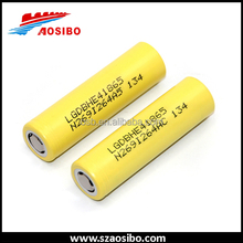 LG Lithium ion battery cell 18650 2500mah lg he4 18650 battery 3.7v rechargeable good performance battery